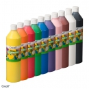 Creall-fingerpaint-Sortiment, 10 x 750 ml